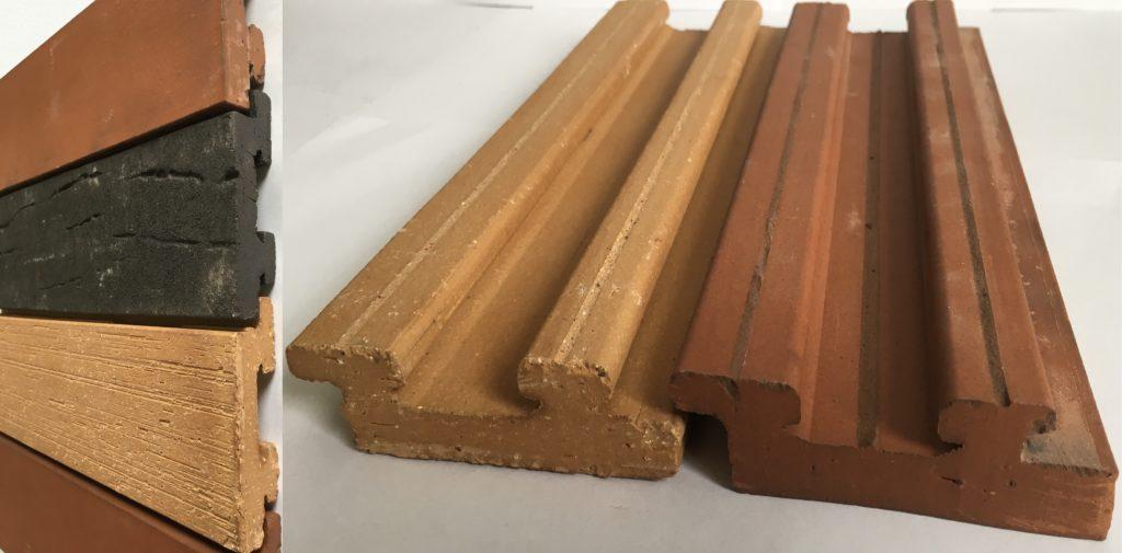 Клинкерные и бетонные плиты